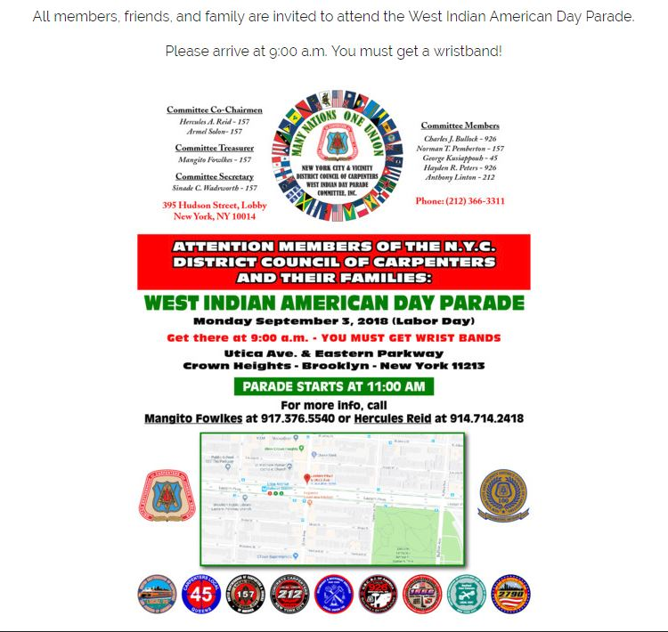 Training center skills to build america west indian american day parade malvernweather Images
